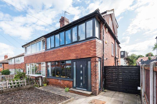 Thumbnail Semi-detached house for sale in Henconner Crescent, Chapel Allerton, Leeds