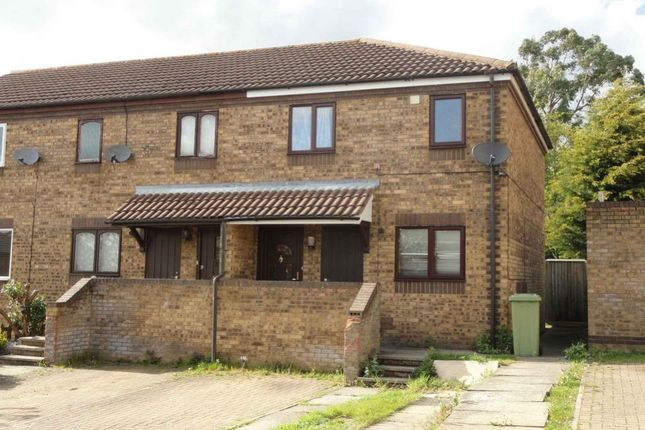 Thumbnail End terrace house to rent in Goodwood, Great Holm, Milton Keynes