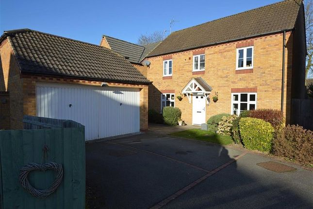 4 bed detached house for sale in Hastings Meadow Close, Kirby Muxloe, Leicester