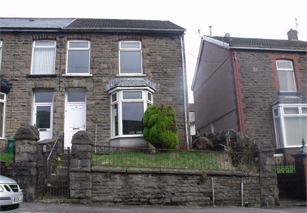 Thumbnail Terraced house to rent in St Albans, Treherbert, Rhondda Cynon Taff