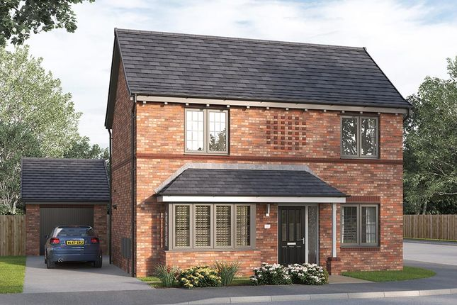 "Thumbnail Detached house for sale in ""The Kintbury"" at Steeplechase Way, Market Harborough"