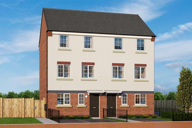 Thumbnail Semi-detached house for sale in Commercial Road, Hanley, Stoke-On-Trent