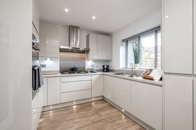 Thumbnail Detached house for sale in Acacia Lane, Burton-On-Trent