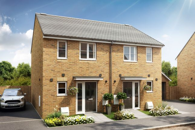 Thumbnail Semi-detached house for sale in Longcot Road, Shrivenham, Swindon