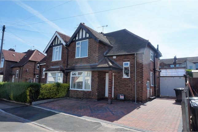 Thumbnail Semi-detached house for sale in Edward Street, Nottingham
