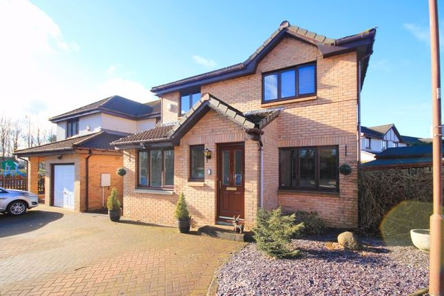 Thumbnail Detached house for sale in Waverley Crescent, Eliburn, Livingston