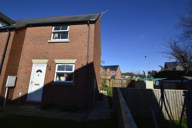Thumbnail End terrace house to rent in Fir Court Avenue, Church Stoke, Montgomery