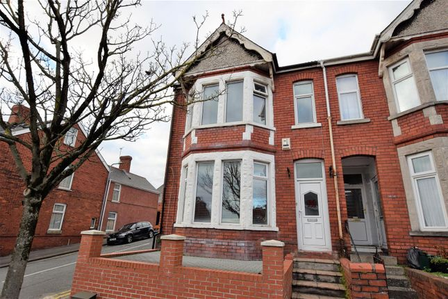 Thumbnail End terrace house for sale in Gladstone Road, Barry