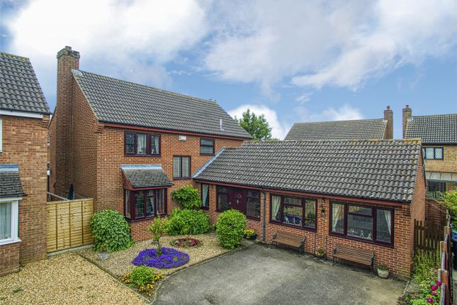 Thumbnail Detached house for sale in Great North Road, Eaton Ford, St Neots, Cambridgeshire
