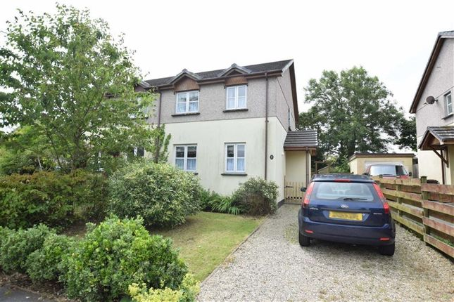 Thumbnail Semi-detached house for sale in Paradise Park, Whitstone, Holsworthy