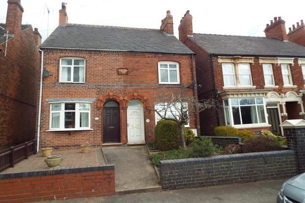 Thumbnail Semi-detached house to rent in Bosworth Road, Measham