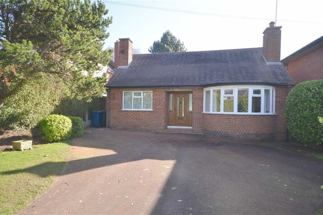 Thumbnail Detached bungalow for sale in Oulton Road, Stone
