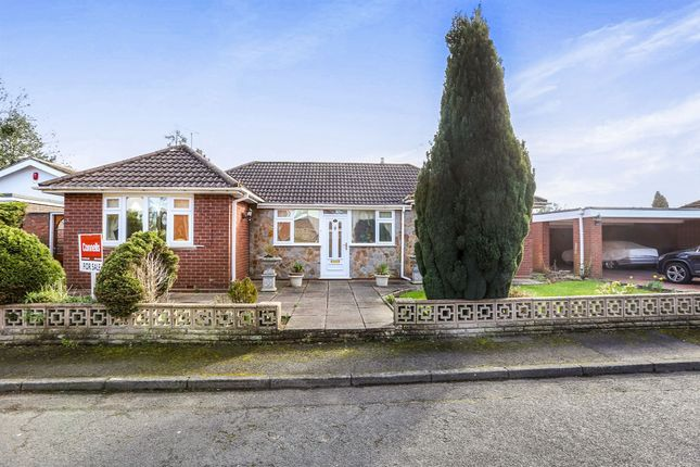 Thumbnail Detached bungalow for sale in Worfield Gardens, Pennfields, Wolverhampton