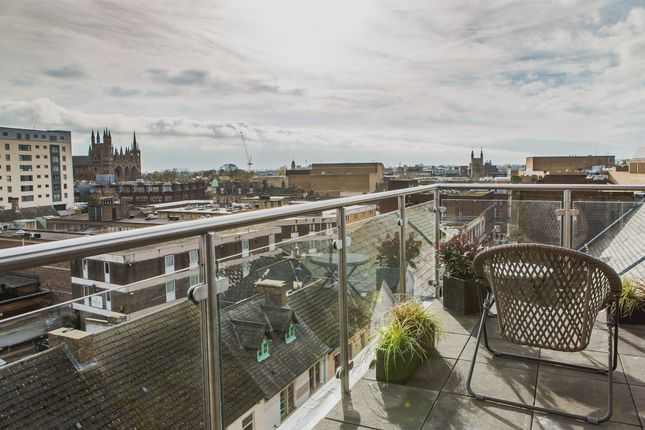 Thumbnail Penthouse for sale in Park Road, Peterborough