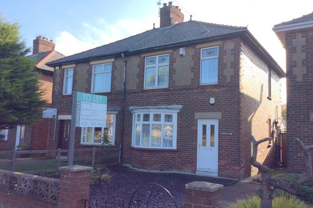 Thumbnail Detached house to rent in North View, Gilesgate, Durham