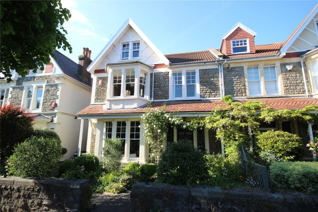Thumbnail Semi-detached house for sale in Henleaze Gardens, Bristol