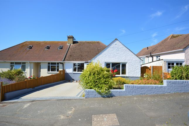 Thumbnail Semi-detached bungalow for sale in Stanbury Crescent, Folkestone, Kent