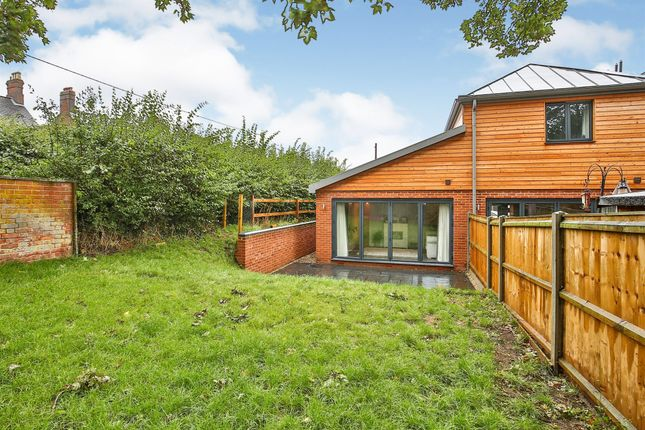 Thumbnail Semi-detached bungalow for sale in Barons Hall Lane, Fakenham