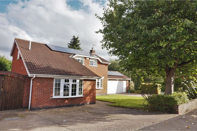 Thumbnail Detached house for sale in Towles Pastures, Castle Donington
