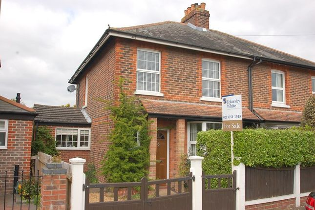 Thumbnail Semi-detached house for sale in Oval Gardens, Gosport