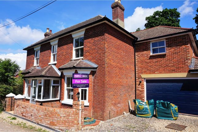 Thumbnail Detached house for sale in Spring Road, Sarisbury Green