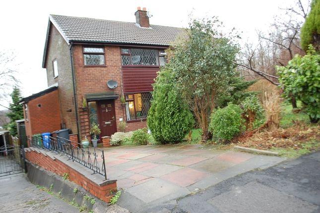 Thumbnail Semi-detached house for sale in Hawthorn Drive, Stalybridge