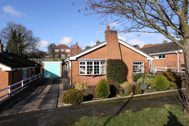 Thumbnail Detached bungalow for sale in Link Road, Anstey, Leicester
