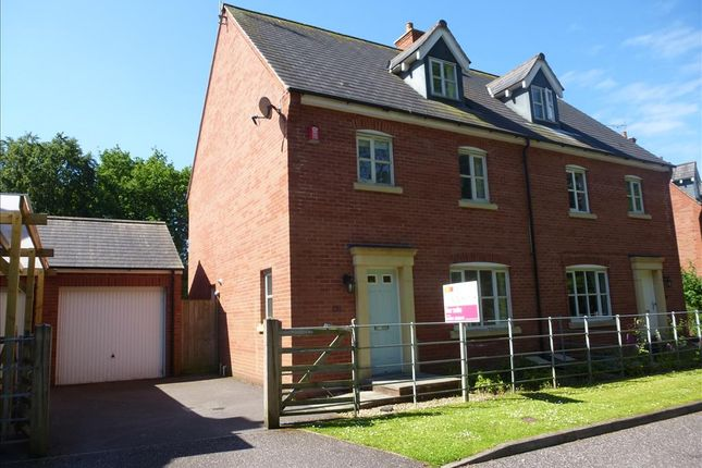 Thumbnail Semi-detached house for sale in Tidcombe Walk, Tiverton