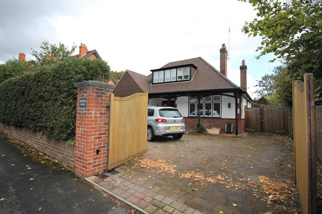 Thumbnail Detached bungalow to rent in West Hill Road, Hook Heath, Woking