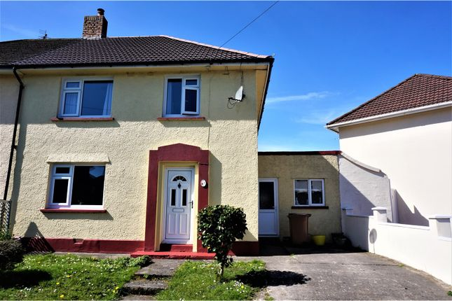 Thumbnail Semi-detached house for sale in Heol Ganol, Caerphilly