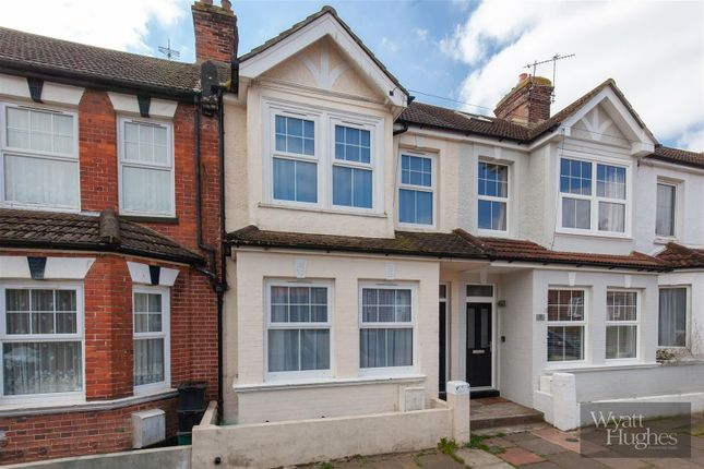 Thumbnail Terraced house for sale in Cumberland Road, Bexhill-On-Sea