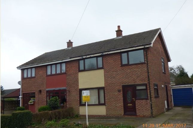 Thumbnail Semi-detached house to rent in Iveagh Close, Measham, Swadlincote