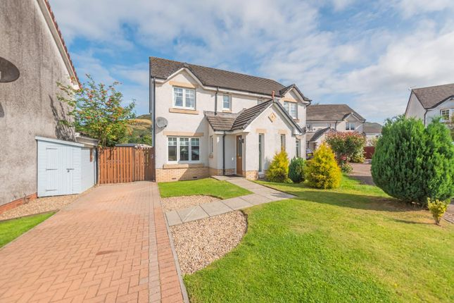 Thumbnail Semi-detached house for sale in Blackthorn Grove, Menstrie