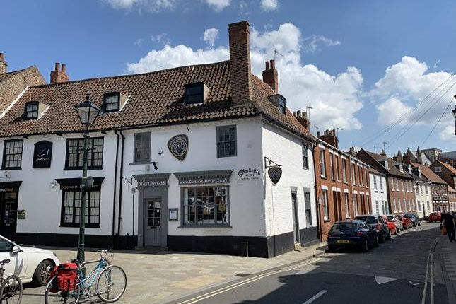 Thumbnail Retail premises for sale in Wednesday Market, Beverley, East Yorkshire