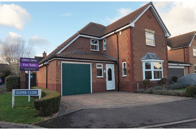 Thumbnail Detached house for sale in Glover Close, Warwick