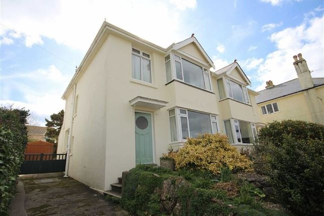Thumbnail Semi-detached house for sale in Ranscombe Road, Brixham