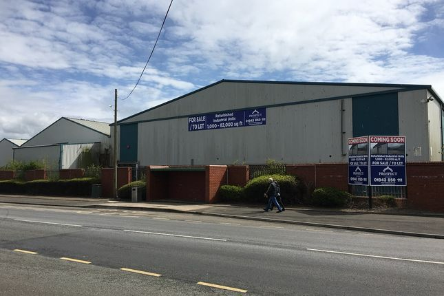 Thumbnail Industrial to let in Solway Industrial Estate, Maryport