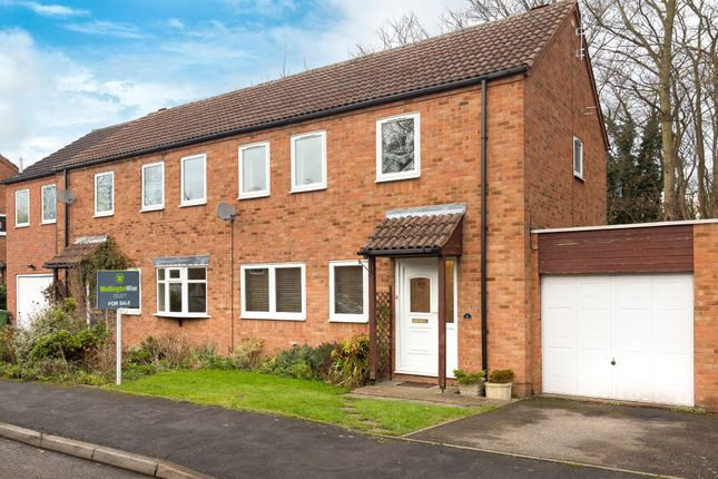 Thumbnail Semi-detached house for sale in St. Marys Walk, Fowlmere, Royston