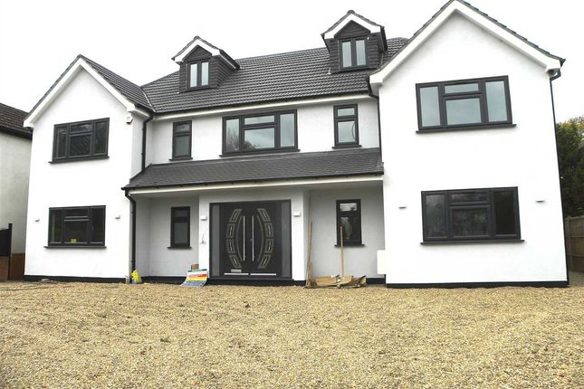 Thumbnail Detached house for sale in Welley Road, Wraysbury, Staines