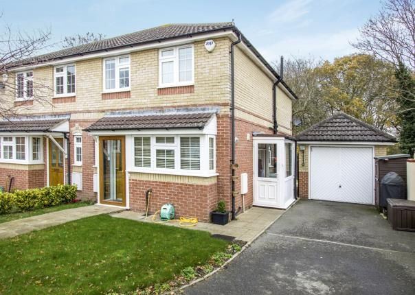 Thumbnail Semi-detached house for sale in Bearcross, Bournemouth, Dorset