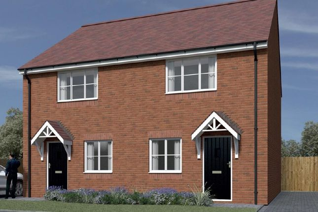 """2 bedroom semi-detached house for sale in Plot 3 St Mary's Place """"The Foster"""" - 40% Share, Kidderminster"""