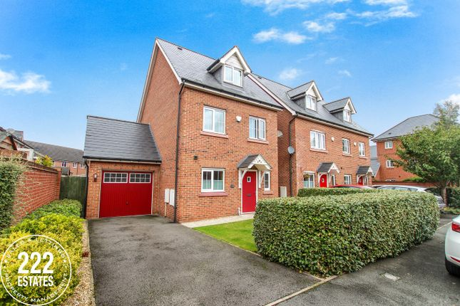 Thumbnail Town house for sale in Rylands Drive, Warrington