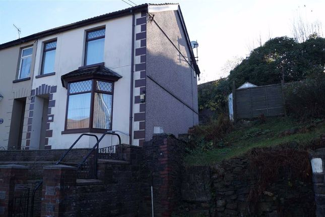Thumbnail Semi-detached house for sale in Harcourt Road, Mountain Ash