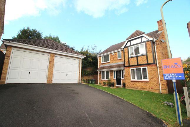 Thumbnail Detached house for sale in Collingworth Rise, Park Gate, Southampton