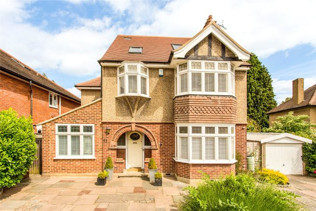 Thumbnail Detached house for sale in Battlefield Road, St. Albans, Hertfordshire