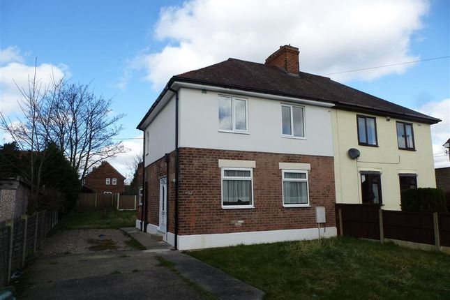 Thumbnail Semi-detached house to rent in Bawtry Road, Harworth, Doncaster