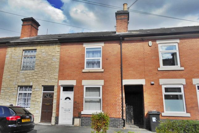 Thumbnail Terraced house to rent in Bakewell Street, Derby