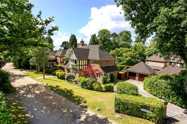 Thumbnail Detached house for sale in Heatherdale Road, Camberley, Surrey
