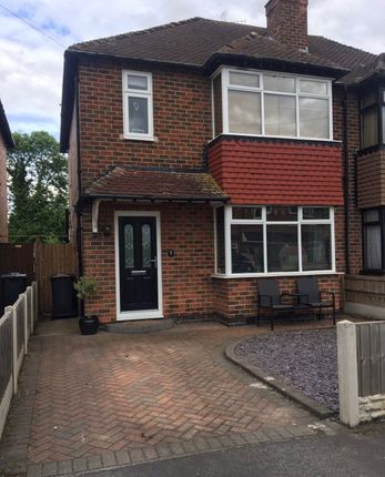 Thumbnail 3 bed semi-detached house to rent in Brookfield Avenue, Chaddesden, Derby