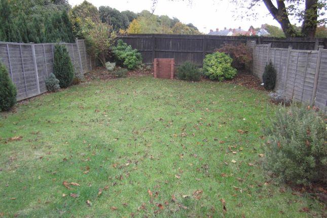 Garden of Alice Templer Close, Barrack Road, Exeter EX2